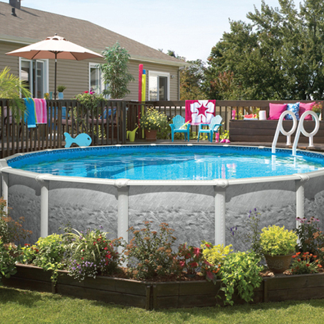 Knickerbocker Pools is pleased to present our White River series of above ground pools.
