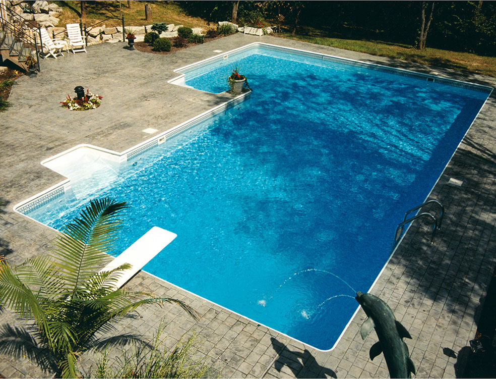 A Knickerbocker swimming pool brings luxury into your life.