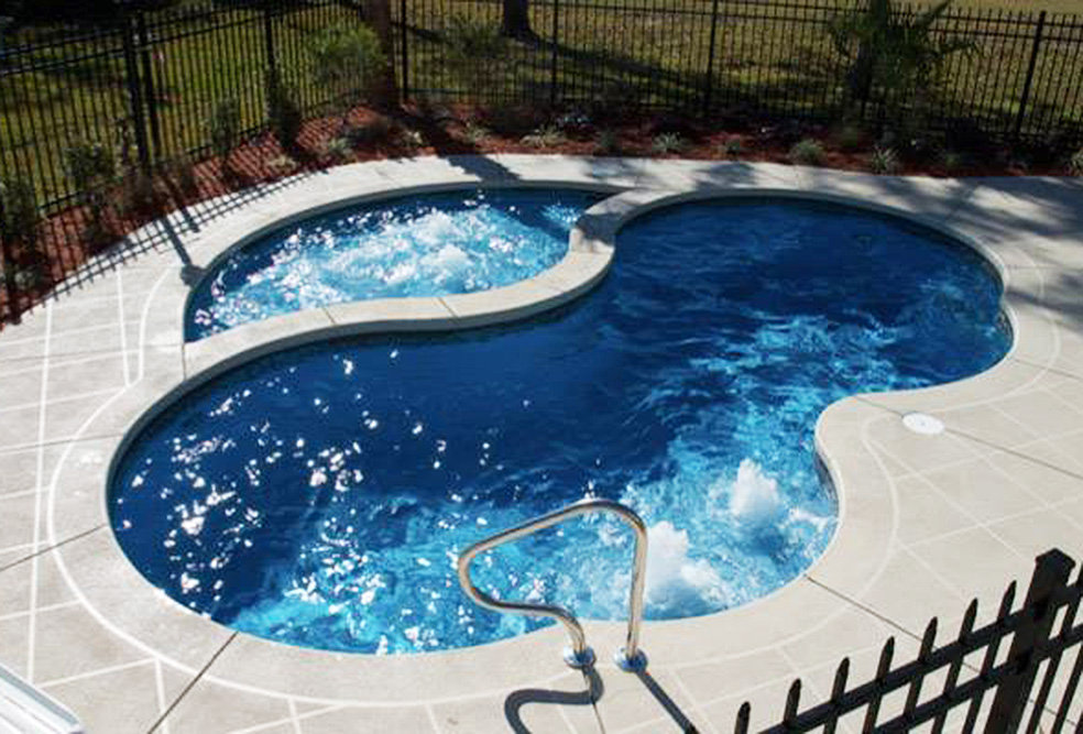 Trilogy Picasso Freeform Pool from Knickerbocker Pools and Spas