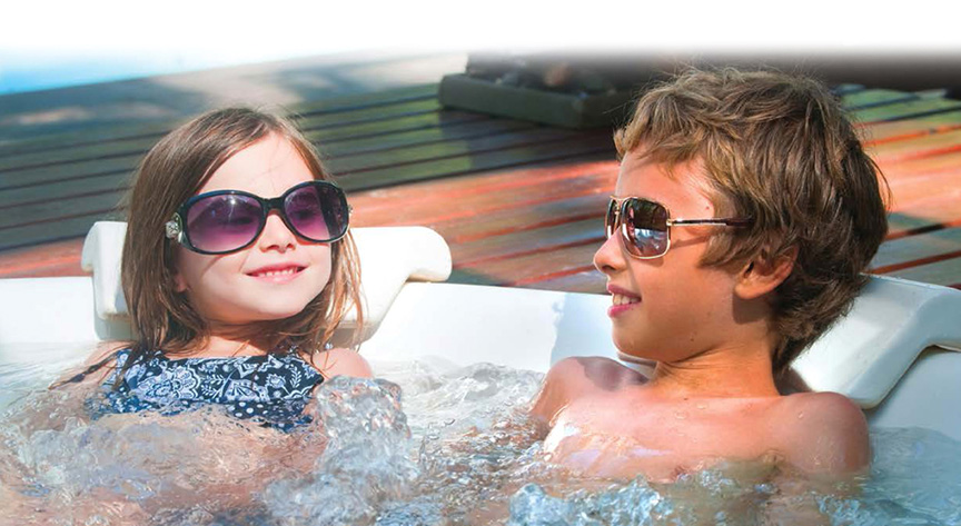 Knickerbocker Pools offers only the best hot tubs — Jacuzzi®